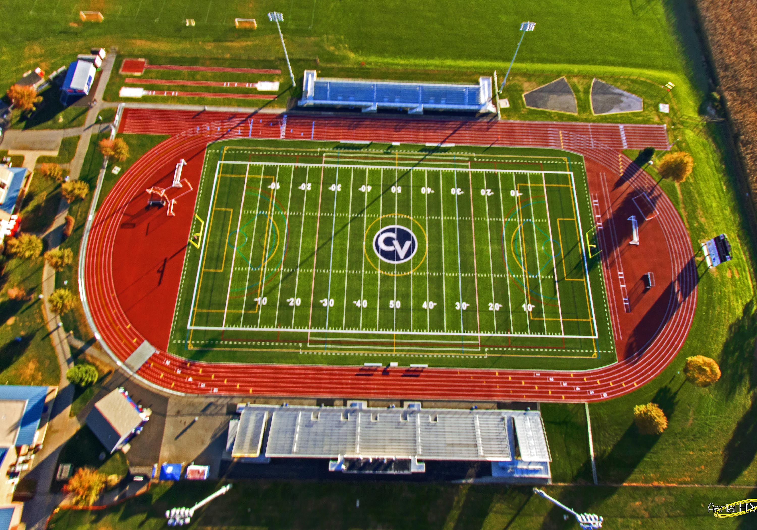 Image result for track and field 400 meter track label ...  |Running Track Birds Eye View