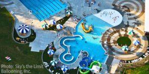 Design-engineering-public-park-municipal-swimming-pool-retaining-wall